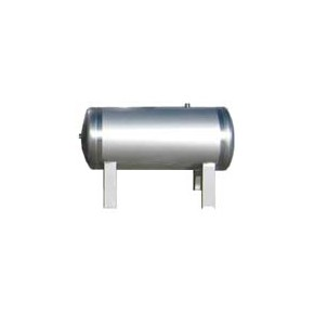 Nerezová tlaková nádoba bez vaku 300H, 8bar, ležatá