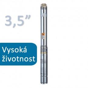 Ponorné čerpadlo do vrtu BLUE LINE 90 QJD 118 1m kabel